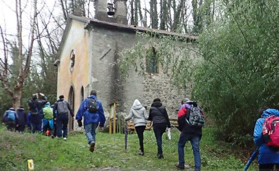 escursione via francigena filattiera lunigiana