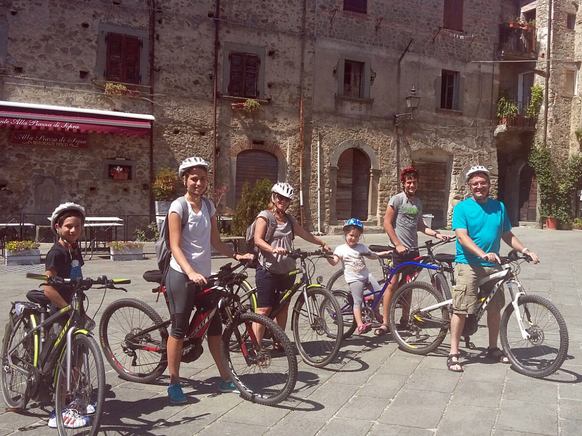 e-bike tour per famiglie