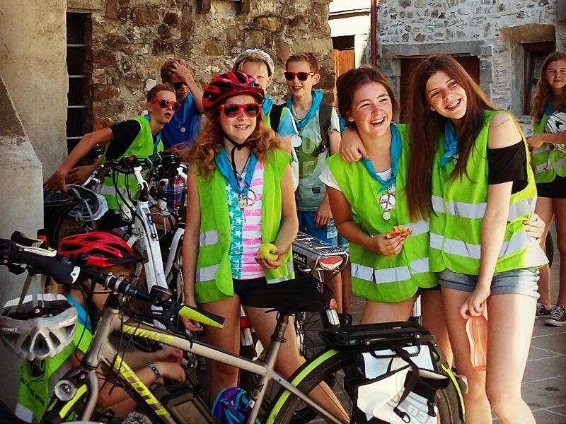 tour in bici per le scuole