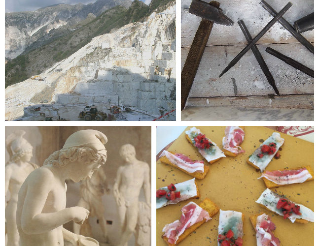 Carrara marble quarries and its delicacy Sigeric